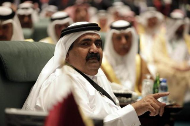 Qatar's Sheikh Hamad bin Khalifa al-Thani, worth $2.4 billion