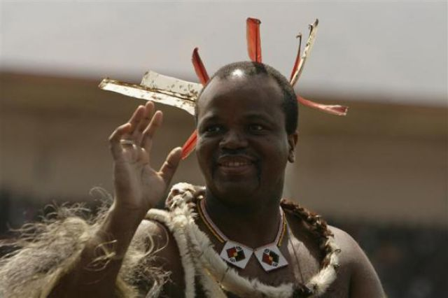 Swaziland's King Mswati III, worth $100 million