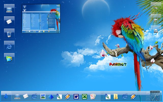 free download 100 themes untuk Windows 7