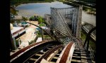 Rusted-roller-coaster-tracks-view-from-the-top-of-the-tallest-hill-on-the-tallest-roller-coaster